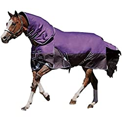 Weatherbeeta ComFiTec Plus Dynamic Detach-A-Neck Lite, Purple/Black, 75""