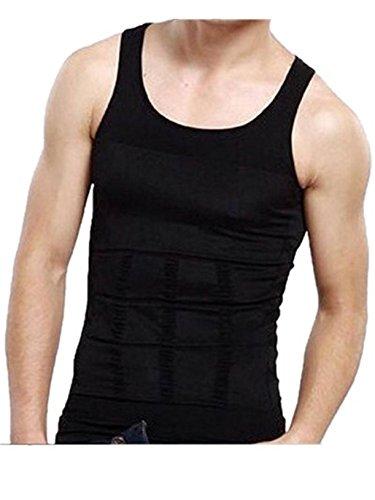 関係区別する羊Ammon Lowen 加圧 スポーツシャツ メンズ タンクトップ 男性の形スーツ痩身スポーツベストタイトな下着