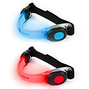 Running Lights for Runners Running Light by Iotrevor Fitness (set of 2)