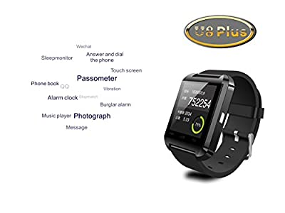 Bluetooth 4.0 Sync Healthy Smart Healthy Bracelet Watch Wristband Sport Gym Fitness Tracker Stopwatch Passometer WristWatch Phone Mate Supports Smartphones IOS Android Apple iphone 5/5C/5S/6/6 Puls Android Samsung S3/S4/S5 Note 2/Note 3 Note 4 HTC Sony