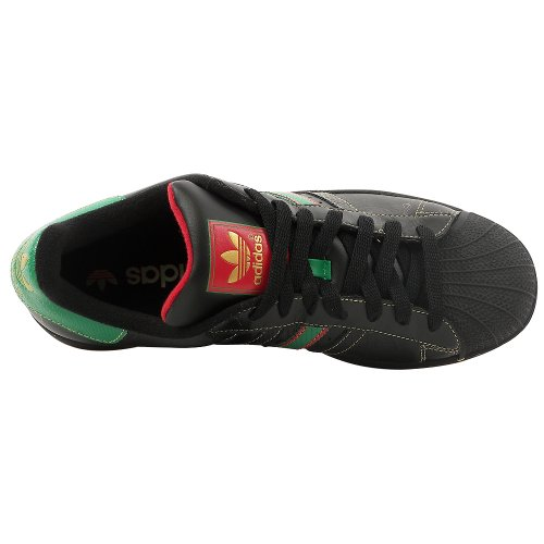 Adidas Originals Mens Superstar Nero Sneaker Ii