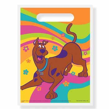 Scooby Doo 8 Treat Bag Sacks (Treat Bags Doo Scooby)