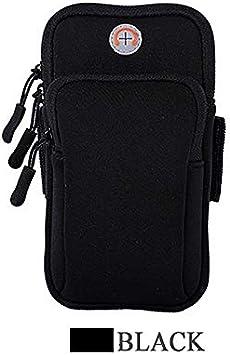 FXNWAQ Armband Fashion Hot Sports Arm Band Unisex Running Flip Bag Universal Comfort Smartphone Mobile Phone Arm Bag Bag Black: Amazon.es: Deportes y aire libre