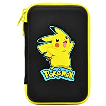 Hori Pikachu Hard Pouch - Case for Nintendo 3DS