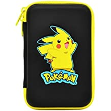 HORI Pikachu Hard Pouch for New Nintendo 3DS XL Officially Licensed by Nintendo & Pokemon