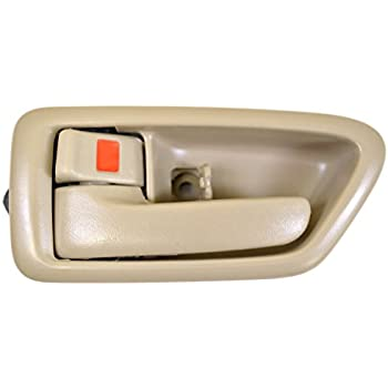 97 01 Toyota Camry Front Door Handle Lh Driver Side Inside Gray Without Case