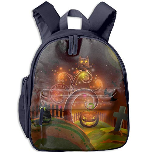 Halloween Party Tree Printed school backpack£¬with Fun Fashionable Design for Boys & Girls -
