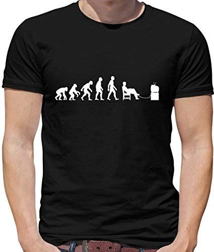 17868a57 Dressdown Evolution of Man - Computer Gamer - Mens Geeky/Funny T-Shirt - 10  Colours: Amazon.co.uk: Clothing