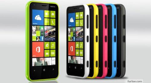 Nokia Lumia 620 White Factory Unlocked SmartPhone 3G WCDMA/HSPA: 850/900/1900/2100