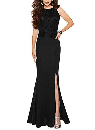 long black halter dresses - 5