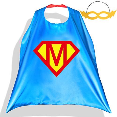 PROLOSO Superhero Capes with Felt Masks for