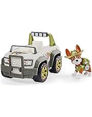 PAW Patrol, Trackers junglevoertuig met verzamelfiguur, voor kinderen vanaf 3 jr.