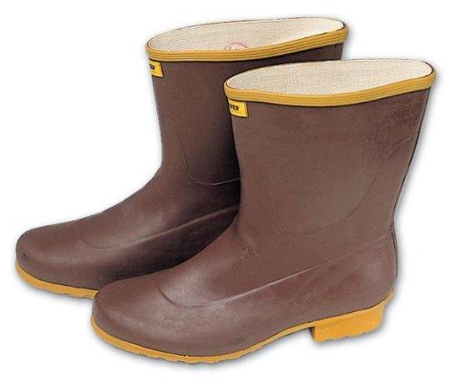 Botas de goma en Tronchetto 41 calandrado suela marrón Maurer