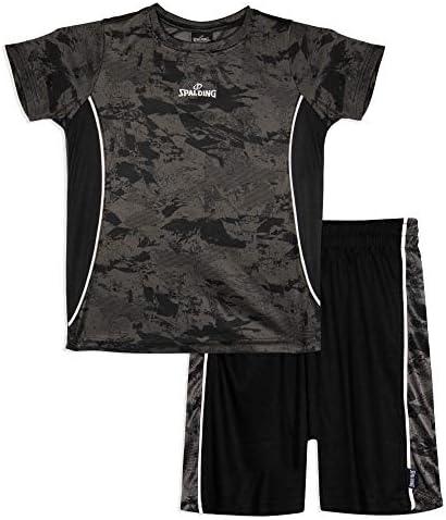 Spalding Athletic Graphic Crewneck Shorts