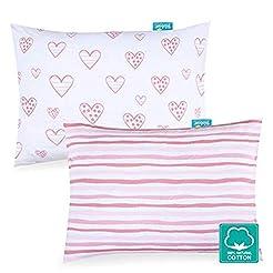 Kid Toddler Pillowcase 2 Pack, 100% Jers...