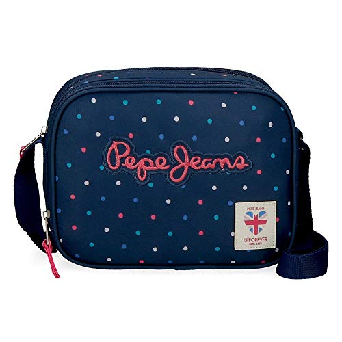 Schultertasche Pepe Jeans Molly, Blau, 23x17x8 cms