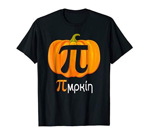 Pumpkin Pi Shirt - Pimpkin - Halloween Math Teacher Shirt ()