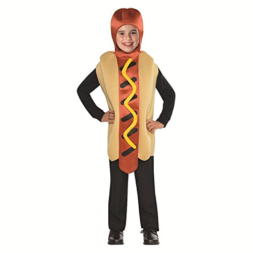 SP Funworld Hot Dog Children's Costume Size Standard 6-8years -