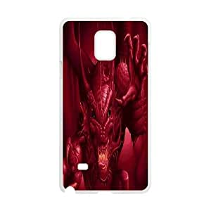 Fggcc Dragon Case for Samsung Galaxy Note 4,Dragon Note4 Cell Phone Case (pattern 15)