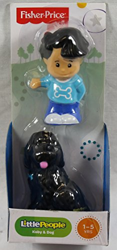 Fisher-Price Little People 2-Pack Koby & Dog