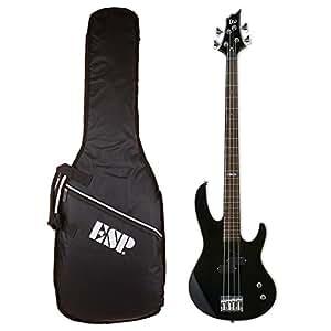 LTD Guitars & Basses B-10BLK KIT - Set de bajo eléctrico