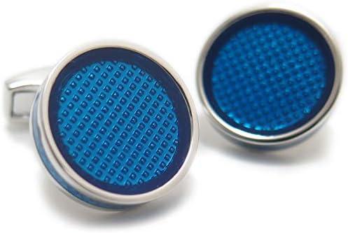 アイスタブレットカフス(ブルー)(カフスボタン/カフリンクス)