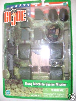 Gi Mission Gear Joe (GI Joe Heavy Machine Gunner Mission Gear)