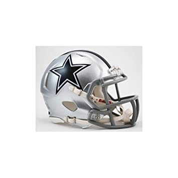 3dcd6778868 OFFICIAL NFL DALLAS COWBOYS MINI SPEED AMERICAN FOOTBALL HELMET BY RIDDELL   Amazon.co.uk  Sports   Outdoors