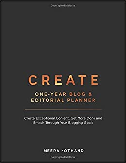 buy create blog and editorial planner book online at low prices in