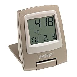 La Crosse Technology WT-2165U Travel Alarm Clock