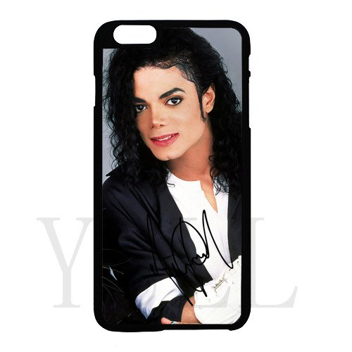 [Michael Jackson signed HD image phone cases for iPhone 6 plus(tpu soft case)] (Michael Jackson Billie Jean Costumes For Kids)