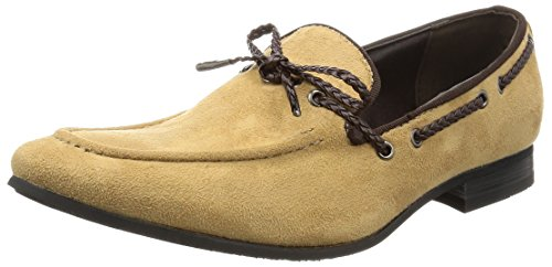 Casual Feel Mens Shoes Loafer Shoes Beige Opera Suede on AN Driving Slip 7Zgwq7