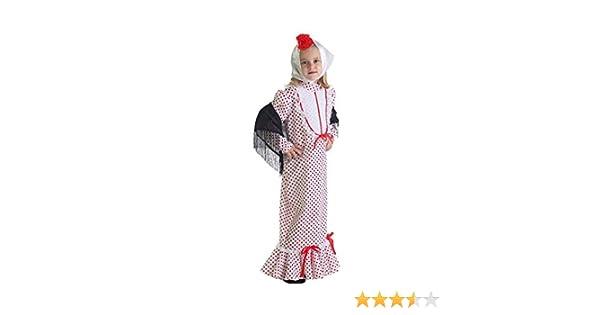LLOPIS - Disfraz Infantil chulapa Coral ts