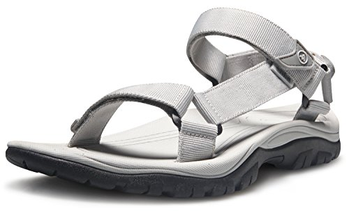 AT-M110-FGY_260 Men 8D(M) Atika Men's Sport Sandals Maya Trail Outdoor Water Shoes M110