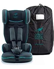 URBAN KANGA Portable Car Seat - Grey/Teal
