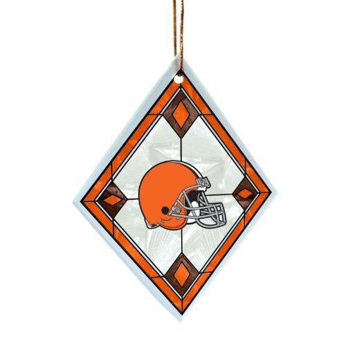 NFL Cleveland Browns Art Glass