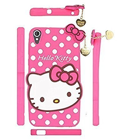 sports shoes a3970 d5fa4 Delkart Nice Girl Kitty Cover for Vivo Y51/Y51L (Pink)