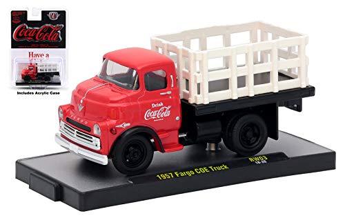 M2 Machines Limited Edition Coca Cola Series 3 1957 Fargo COE Truck RW03