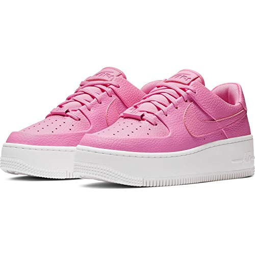 Nike Womens AF1 Sage Low Basketball Shoe (9 M US, Psychic Pink/Psychic Pink) ()