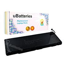 "UBatteries Laptop Battery Apple MacBook Pro Unibody 17"" A1383 (2011) A1229 (2007) A1261 (2008) A1297 (2009-2011) - 10.95V, 77Whr"