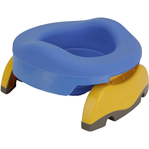 Kalencom Potette Plus Collapsible Reusable Liner For Home Use With The 2-in-1 Potette Plus Potty (sold separately) (Blue)