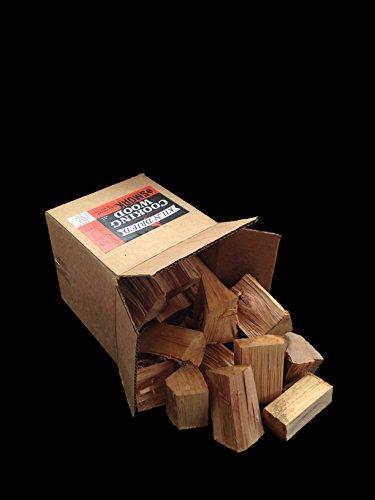 Cooking Wood Chunks - USDA Certified Kiln Dried Smoak Firewood (Red Oak, 8-10 lbs)