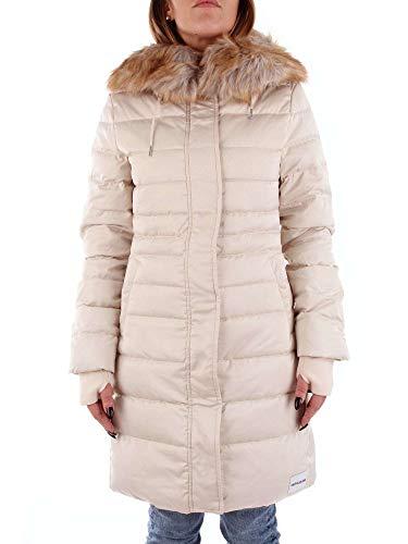 Manteau Femme Klein Calvin Blanc J20j208587 wgaqnX6