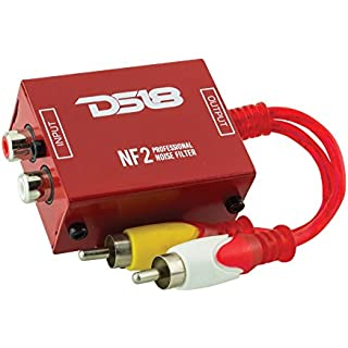 Discount DS18 NF2 Professional Noise Filter Ground Loop Isolator for Car Audio Systems. Eliminates and Stops The Hum Noise!