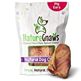 Nature Gnaws Pig Ears for Dogs - Premium Natural