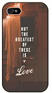 But the greatest of this is love - Vintage retro room - Bible verse For Iphone 6 4.7 Inch Case Cover black plastic case / Christian Verses