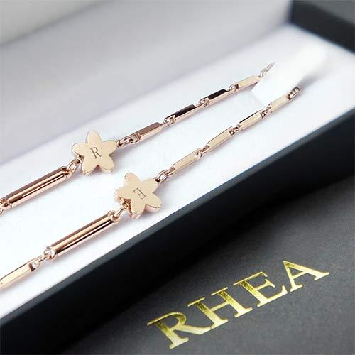 RHEA ネックレス レディースゴ-ルドさくら   B07N4TBW66