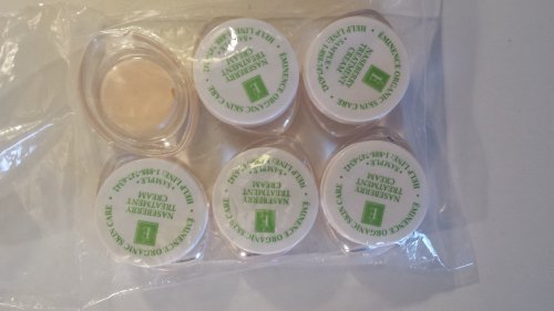 Eminence Naseberry Treatment Cream Sample Set of Six Travel Size 100% Fresh Organic by Eminence Organic Skin Care