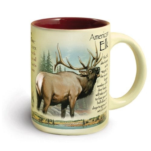Elk 16-Ounce Ceramic Mug<br>American Expedition