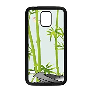Bamboo Use Your Own Image Phone Case for SamSung Galaxy S5 I9600,customized case cover ygtg-333867